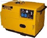 Дизельный электрогенератор AYERBE AY 6000 Y A/E INS (кожух)