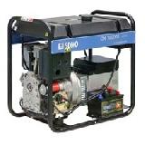 Трехфазный дизель-генератор с электростартером DX 10015TE (8 кВт)