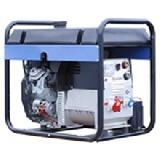 Бензиновый сварочный генератор SDMO для работы с постоянным током до 270А. VX 270/10HE