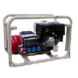 Трехфазная бензиновая электростанция SDMO мощностью 6 кВт. HX7554T